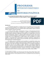 La descomposición del poder militar en la Argentina - Paula Canelo