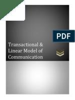 Models of Communication