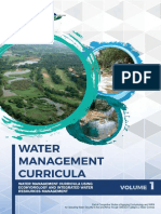 water management curricula