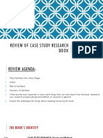 Review of Case Study Research Book