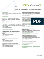 Directorio Fomento JUNTA DE EXTREMADURA 2019