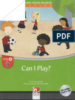 """""""Can I Play"""" Student Book"""