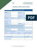 Summer School Application Form 2 (1)