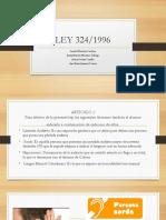 Ley 324  lengua de señas colombiana