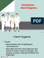 sosialisasi cuci tangan