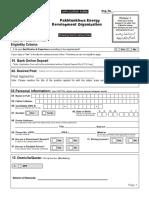 PEDO Application Form RP(New)