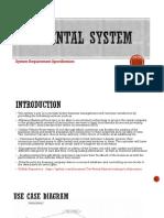 Car Rental System SRS