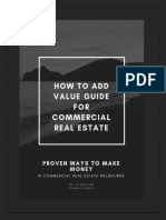 How to Add Value Guide for Commercial Real Estate