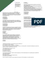 Evaluación Ciencias Sociales Cuarto Periodo