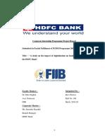 Ravi Panwar FIIB CIP-2019-Report (PDF)