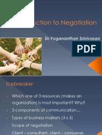 Unit 1 Fundamentals of Negotiation Ch Uni