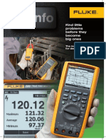 The new Fluke 289 True-rms  Industrial Logging Multimeter  with TrendCapture