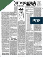 La Correspondencia Militar. 23-8-1900, n.º 6.876