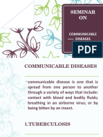 Commnicable Diseases