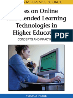 Yukiko Inoue, Yukiko Inoue - Cases on Online and Blended Learning Technologies in Higher Education_ Concepts and Practices-Information Science Reference (2009)