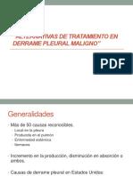 Alternativas de Tratamiento en Derrame Pleural Maligno-1
