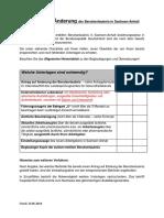 Checkliste Berufserlaubnis Halle - Saale
