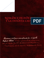 Romance de Don Bueso y la Infanta Cautiva - Romance antiguo escenificado por Rafael Alberti