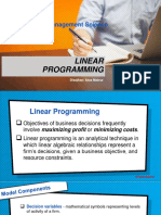 13. Linear Programming