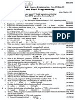 06CS36-Unix and Shell Programming-Jan 2010