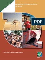 Handbook measuring economic value of tourism f national parks