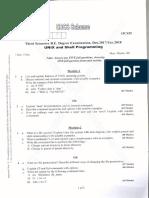 15CS35- Unix and Shell Programming-Jan 2018