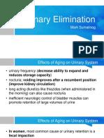 12 Urinary Elimination