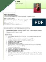 Curriculum CM 2019