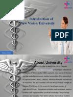 New vision university | NVU Hostel |Fee Structure