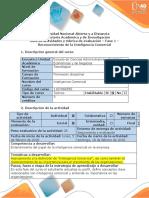 Guía de Actividades y Rúbrica de Evaluación - Fase 1 Reconocimiento de La Inteligencia Comercial