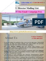 ICU CCU Director Mailing List