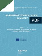 3d Printing Technique PDF
