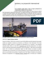 La Nueva Guyana Petrolera y Su Proyección Internacional