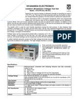 Catalogue - Oil Insulation Tester - Ots-pr-cg-100