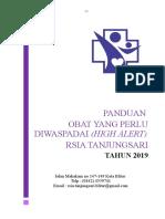 PANDUAN OBAT YANG PERLU DIWASAPADAI.doc