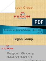 Fegon Group | Providing Internet Security Solutions | 844-513-4111