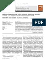 Calix[4]arene based molecular sensors with pyrene as fluoregenic unit