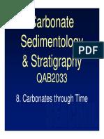 QAB2033_Topic 8_ Carbonates Through Time