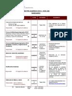 Calendario Acad 2019 II Ingresantes