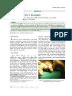 Neonatal Fournier's Gangrene