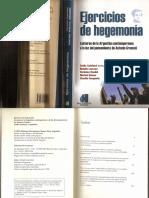 Ejercicios de Hegemonia (Guido Galafassi)