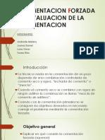 Cementacion Forzada y Evaluacion de La Cementacion