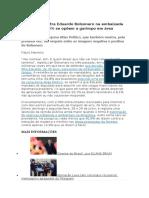 Eduardo Bolsonaro Na Embaixada - o Povo é Contra (Matéria El Pais)