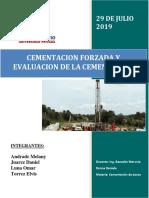Cementacion Forzada y Evaluacion de La Cementacion-1