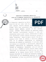 Acta Constitucion Corporacion Municipal Deporte Valpo 2011