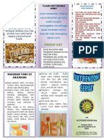 Leaflet Diet Rendah Serat
