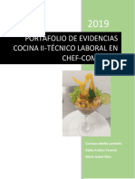 Portafolio Cocina II 2019