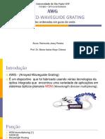 AWG Universidade de São Paulo- Seminário