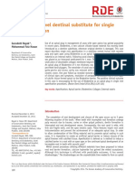 Biodentine-a novel dentinal substitute for single visit apexification