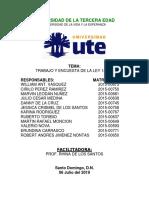 TRABAJO SOBRE ENCUESTA SOBRE LA LEY 140-15